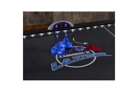 Аэрохоккей «Atomic Lumen-X Lazer» 6 ф (183 х 102 х 79 см, черный)