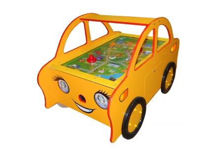 Аэрохоккей детский (домашний) «Машинка»
