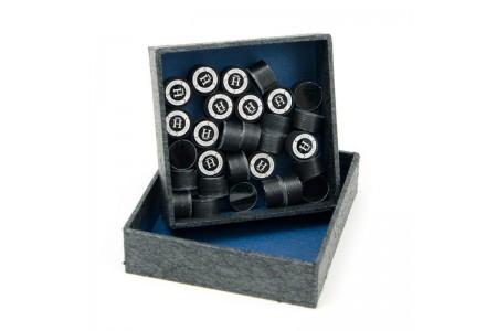 Наклейка для кия «Kamui Clear Black» (H) 13 мм