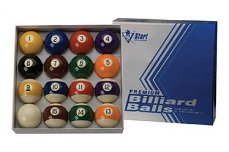 Шары Start Billiards Premium  ⌀ 57,2 мм
