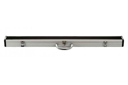 Алюминиевый жесткий футляр для кия ПУЛ (2рс), Черный
